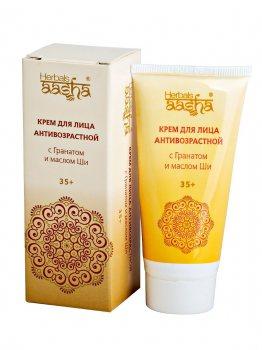 Крем антивозрастной 35  с гранатом и маслом Ши, Aasha Herbals