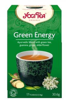 Аюрведический йога чай Green Energy, Yogi tea
