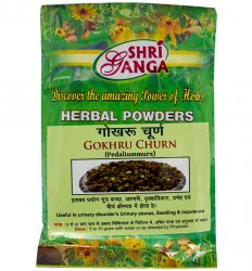 Гокшура в порошке (Gokhru (Gokshura) Churn Pedaliummurx), Shri Ganga