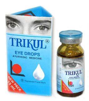 Глазные капли Трикул (Trikul), Trimed Ayurveda