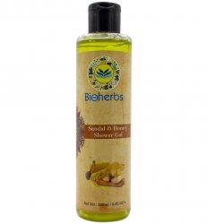 Гель для душа Сандал и Мёд (Sandal & Honey Shower gel), Bioherbs