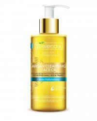 Средство для умывания с аргановым маслом и гиалуроновой кислотой Argan Cleansing Face Oil, Bielenda