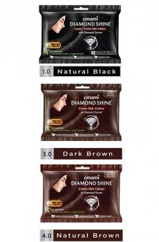 """Крем-краска для волос """"Диамантовый блеск"""" (Diamond shine), emami"""