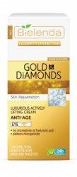 Эксклюзивный крем от морщин для кожи вокруг глаз Gold&Diamonds, Bielenda