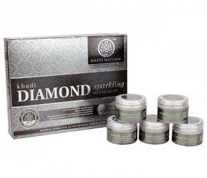 Подарочный набор для лица 5 в 1 DIAMOND, Khadi