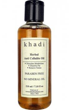 Антицеллюлитное массажное масло, Khadi
