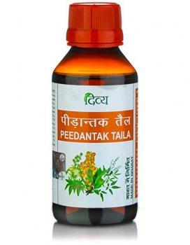 Масло для снятия боли в суставах Пидантак (Peedantak Taila), Patanjali