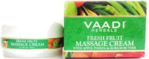Массажный крем для лица Фруктовый (Fresh fruit), VAADI Herbals