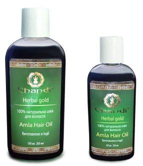 Натуральное масло для волос Амла (Amla Hair Oil), Chandi