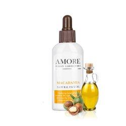 Натуральное масло макадамии для лица, AMORE