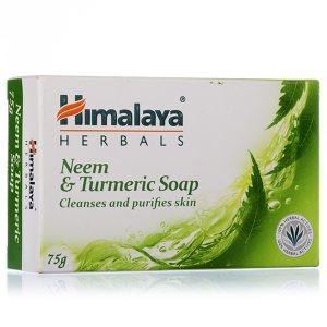 Мыло защитное с нимом и куркумой, Himalaya Herbals