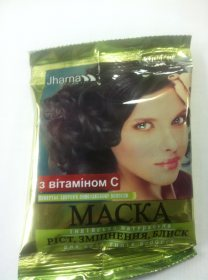 Индийская маска с витамином С для роста и укрепления волос, Jharna