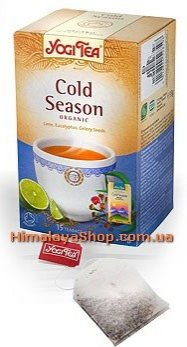 Аюрведический йога чай Cold Season, Yogi tea