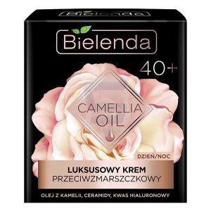 Крем концентрат против морщин 40  день/ночь (Camellia) Lux, Bielenda