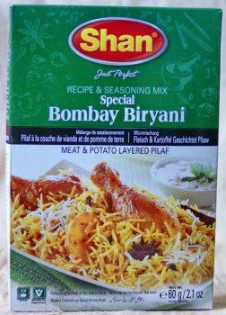 Bambey Biryani, Shan