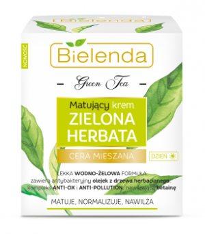 Матирующий дневной крем с зеленым чаем, BIELENDA