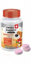 """Желейные витамины для детей """"СмартВит Кидс"""" БЕЗ САХАРА (SmartVit Kids Sugar Free), Swiss Energy"""