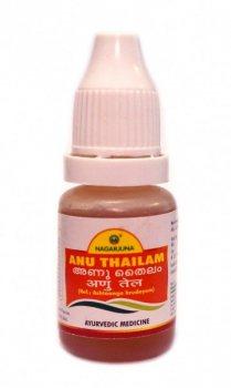 Капли в нос на масле Ану Тайлам (Anu Thailam), Nagarjuna