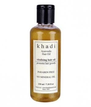 Аюрведическое масло для роста волос Vitalising, Khadi