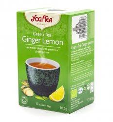 Аюрведический зеленый чай Имбирь Лимон (Green Tea Ginger Lemon), Yogi Tea