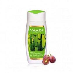 Антивозрастной лосьон-увлажнитель для лица Бамбук и Виноград, Vaadi Herbals
