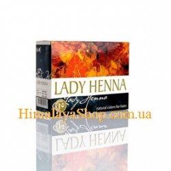 Краска для волос на основе хны Lady Henna, Черный индиго