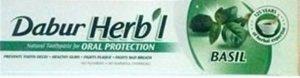 Зубная паста с базиликом, Dabur Herbal