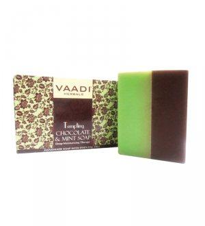 Натуральное мыло Соблазнительный шоколад и мята, Vaadi