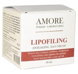 Антивозрастной дневной крем с липофилинг комплексом, AMORE