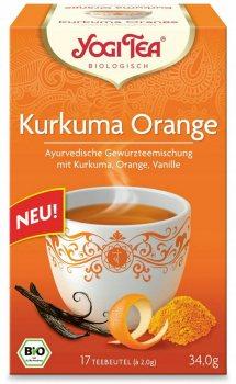 Аюрведический йога чай Куркума Апельсин (Kurkuma Orange), Yogi tea