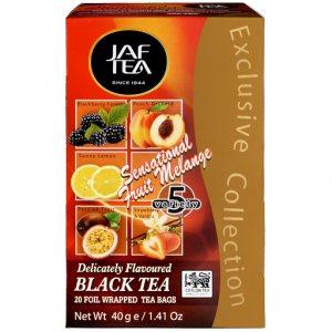 Чай Jaf Tea Sensational Fruit Melange в пакетиках