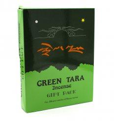 Тибетские благовония Грин Тара подарочный набор (Green Tara Incense Gift Pack), YAK