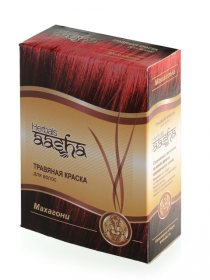 Травяная краска для волос Aasha Herbals, Махагони