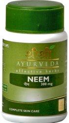 Ним (Neem) 300 мг, Sri Sri Ayurveda