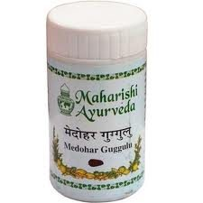Препарат для похудения Медохар Гуггул (Medohar Guggulu), Maharishi Ayurbveda