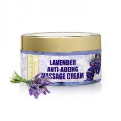 Массажный крем для лица против морщин Лаванда, Vaadi Herbals
