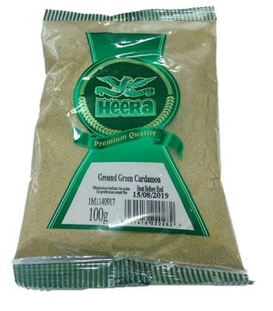 Зеленый Кардамон Ground Green Cardamon, Heera
