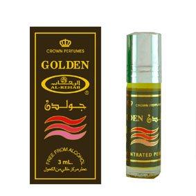 Арабские Масляные духи Golden, Al Rehab