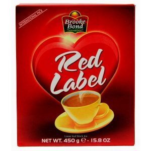 Органический чай Red Label, Brooke Bond