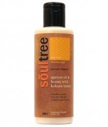 Органический увлажняющий крем для тела с абрикосовым маслом и диким имедом, Soultree