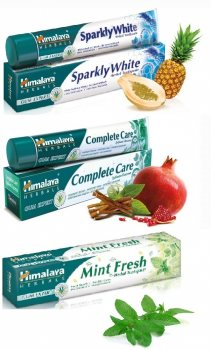 Подарочный набор зубных паст, Himalaya Herbals