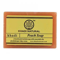 Аюрведическое мыло ручной работы Персик (Peach soap), Khadi