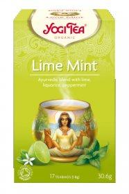 Аюрведический йога чай Lime Mint, Yogi tea