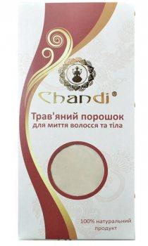 Травяной порошок для мытья волос и тела, Chandi
