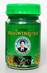 Зелёная тайская мазь