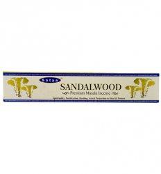 Благовония индийские Сандал (Sandalwood incense), Satya