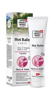 Разогревающий бальзам с Капсаицином (Hot Balm Forte), Swiss Energy