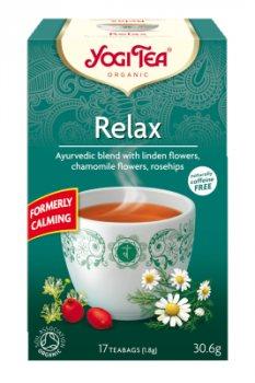 Аюрведический йога чай Релакс (Relax), Yogi tea