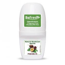 Натуральный роликовый дезодорант для тела, женский с экстрактом маракуйи, BeFresh