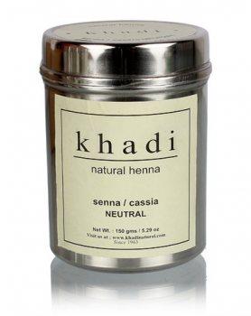 Хна для волос бесцветная Сенна/Кассия, Khadi